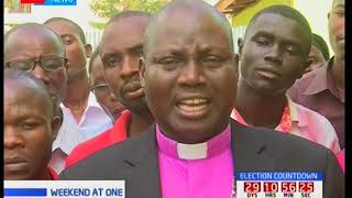 Bishop John Okinda faults politicians on the rift being seen in the country