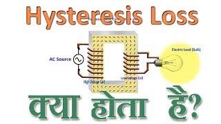 """What is Hysteresis loss? explained in Hindi """"हिस्ट्रेसिस लॉस होता क्या है?"""""""