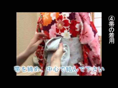 卒業式 小学生女の子 袴の着付け方
