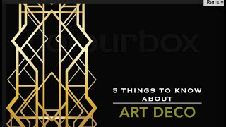 5 Things To Know About Art Deco Jewelry