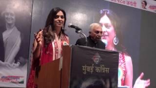 Indira Gandhi Memorial Award in Social Awareness to Mrs Juhi Chawla Mehta