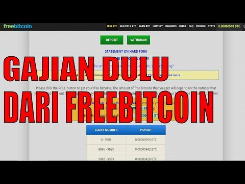 Video FreeBitCoin Payment Proof (Gajian dari Freebitcoin dulu sob)
