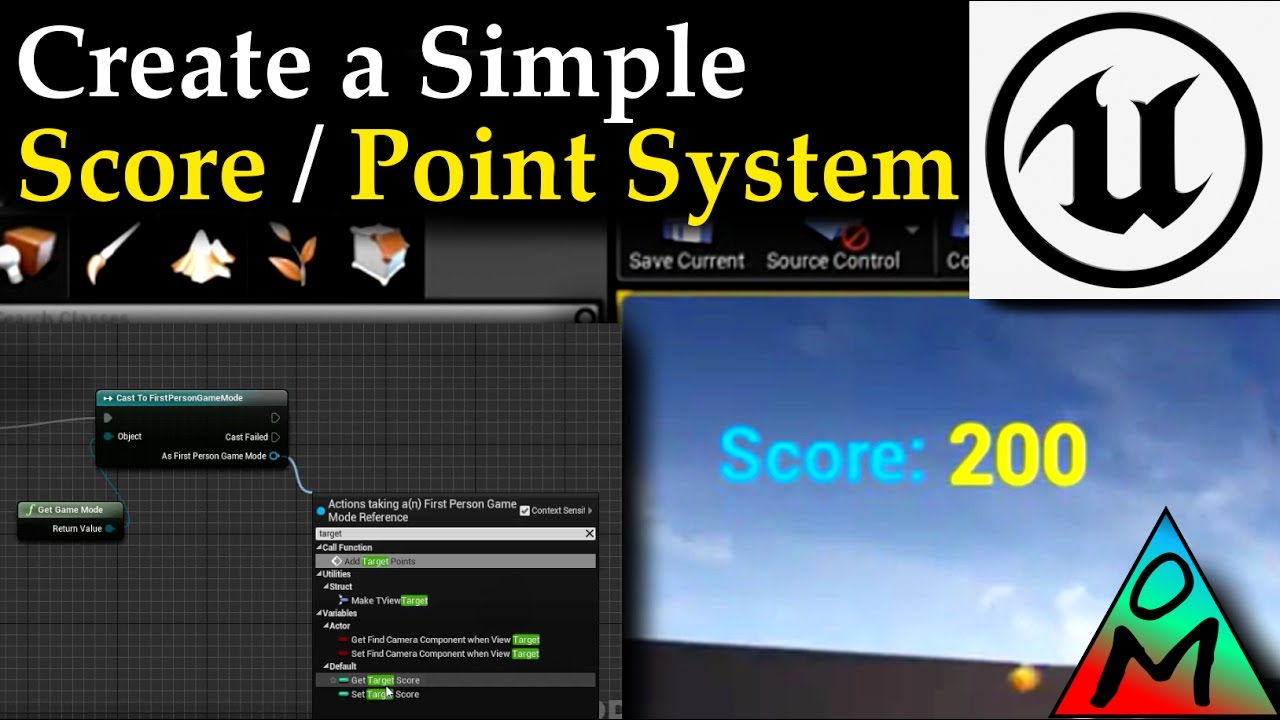 Unreal Engine 4 Tutorial | Simple Score / Point System