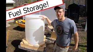 55 Gallon Barrel Fuel Storage!