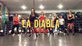 La Diabla Remix   Alex Sensation Ft Nicky Jam  Zumba Con Nath