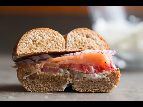 Simple Lox & Bagel Recipe | SAM THE COOKING GUY