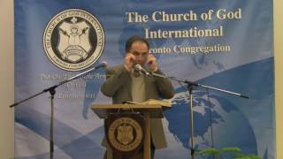 Bill Watson - Looking at Ourselves in Light of Romans 14