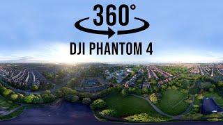 Readhead Park and Westoe, South Shields, England - Aerial 360 Degree Photography | DJI Phantom 4