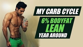 My CARB cycle to stay in 6% BODY FAT & LEAN year around - Guru Mann