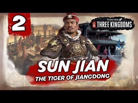 WAR FOR THE IMPERIAL JADE SEAL! Total War: Three Kingdoms - Sun Jian - Romance Campaign #2