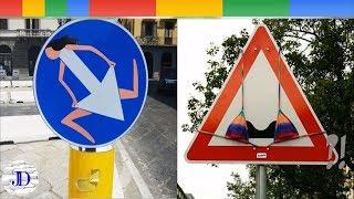Funny Traffic Signs Vandalism