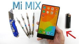 The Bezel-less Xiaomi Mi Mix - BEND TEST and Ceramic Scratch Test