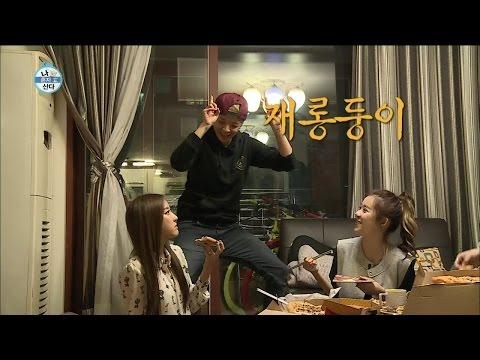 【TVPP】Amber(f(x)) - Variety Aegyo, 엠버(에프엑스) - 부비부비 + 우쭈쭈 애교둥이 엠버의 폭풍 애교 @ I Live Alone