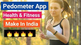 Pedometer Step Counter App For Mobile // Best Fitness App For Mobiles // Step Counter App