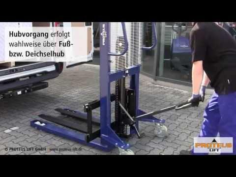 Manueller Hochhubwagen PJA1016 von PROTEUS LIFT