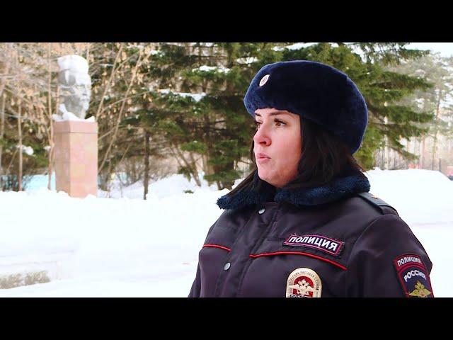 В Ангарске женщина-полицейский Татьяна Кривожня задержала грабителя