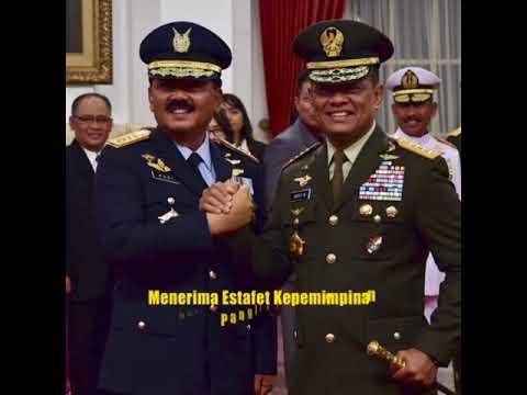 Panglima TNI Olahraga Bersama Anggota Mabes TNI