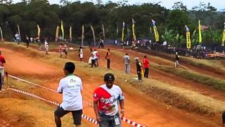 preview picture of video 'Muhammad Ridwan 72  kejurnas motocross ciamis 24 agustus 2014  seri 8'
