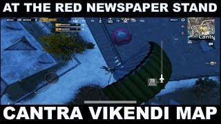Red Newspaper Stand at Cantra in Vikendi Map | Threat From The Above Mission