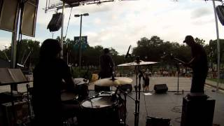"Rom Gov playing drums live for Adam Hood- ""It Buzzes Like Neon"" in Deer Park, TX."