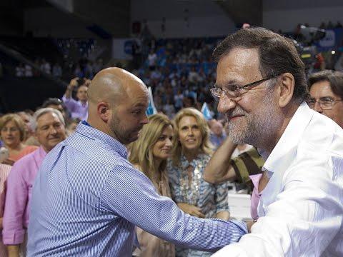 """Rajoy: """"No podemos volver a la cola de Europa dándole el voto al PSOE o a quienes quieren apuntalarlo"""""""