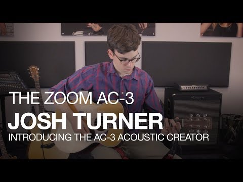 ZOOM AC-3 Acoustic Creator Kytarový multiefekt