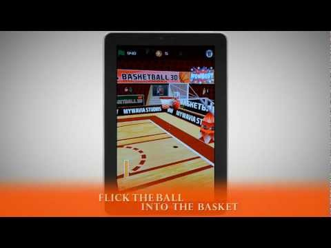 Video of Basketball Games - 3D Frenzy