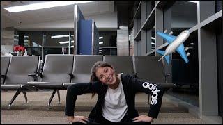 Flying Alone For The First Time Gone Wrong