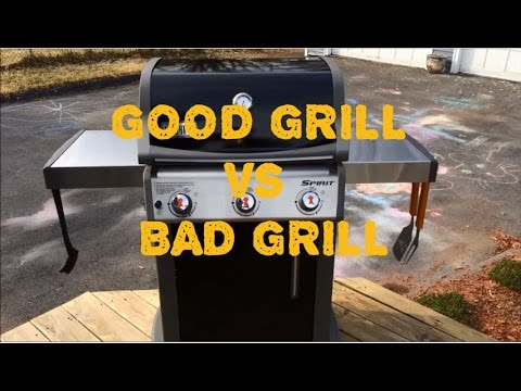 Weber Spirit E-310 Review. Good Grill VS Bad Grill