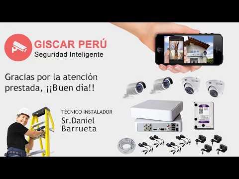 Foxtel Perú - ¿Cómo conectar mi Kit de cámaras de seguridad RJ45?