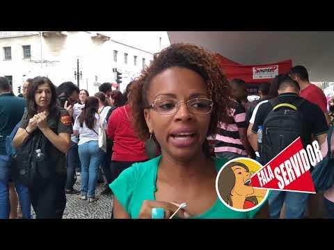 Fala Servidor: Erica, da SUVIS Itaquera falando sobre a Greve