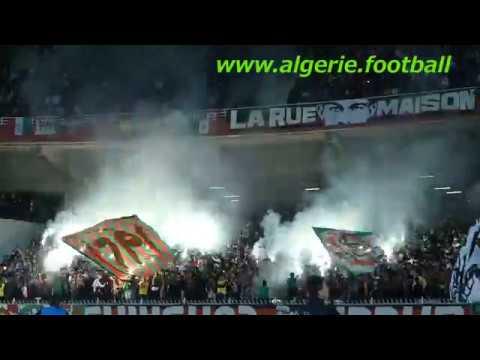 La galerie du MCAlger lors du match face au Difaâ El Jadida