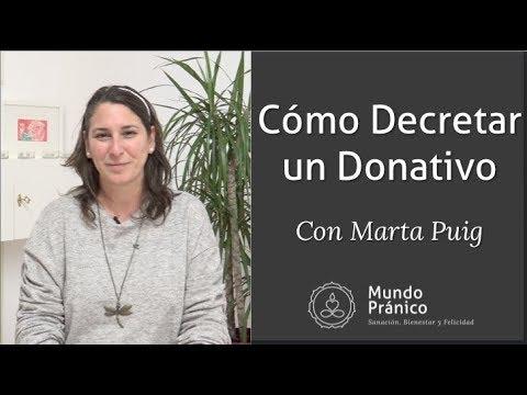🌍 Cómo Decretar un Donativo · MUNDO PRÁNICO🌍