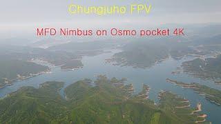MFD Nimbus FPV, Osmo pocket 4K