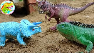 Funny dinosaurs and humorous lizards - Toy B1137M Toy