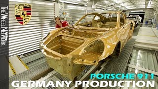 Porsche 911 Production in Germany (991 Turbo S Exclusive Series Special Edition)