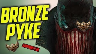 When BRONZE PLAYERS Play PYKE For the First Time- Bronze Spectates 59