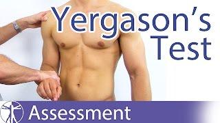 The Yergasons Test | SLAP Lesion | Biceps Pathology