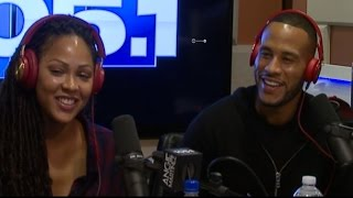 Meagan Good Devon Franklin Sit Down With Angie to Discuss Their New Book, The Wait