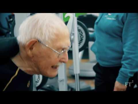 Charles het begin hardloop op 95 jaar