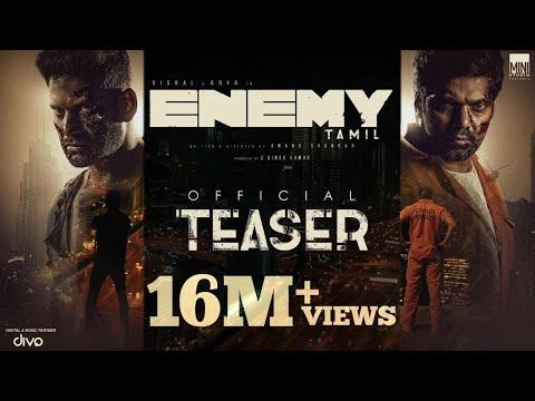 Enemy (Tamil) - Official Teaser | Vishal,Arya | An..