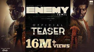Enemy (Tamil) - Official Teaser   Vishal,Arya   Anand Shankar   Vinod Kumar   Thaman S, Sam CS