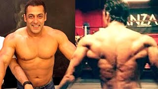Salman Khan's Gym Bodybuilding Workout Look For Tubelight LEAKED