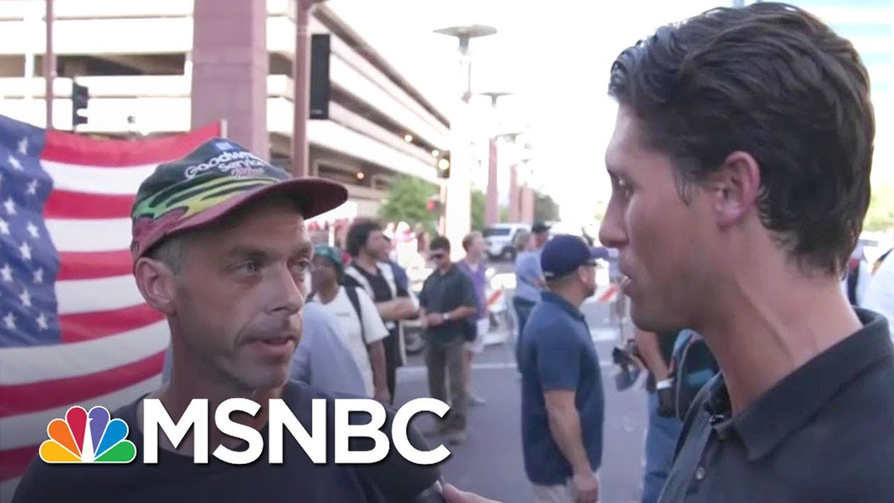 'John McCain, Thumbs Down': Arizona Donald Trump Voters Weigh In | Morning Joe | MSNBC thumbnail