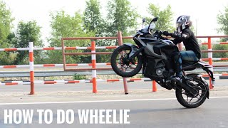 How To Do A Wheelie (Basic) | In Three Easy Steps | Tutorial