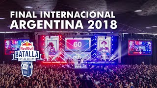 Final Internacional 2018 | Red Bull Batalla de los Gallos