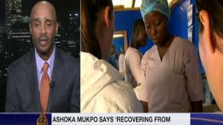 Dr. Rossi Hassad Talking about the Ebola Vaccine Trials - Al Jazeera