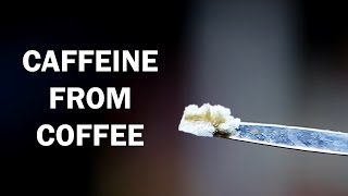 Extracting caffeine from coffee