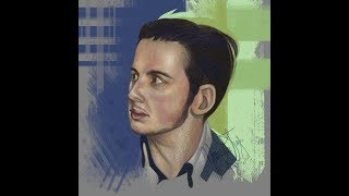 [coloration] speed paint of Aaron Jeffcoate (ipad art)