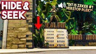 HIDE AND SEEK #14!! - Fortnite Playground (Nederlands)